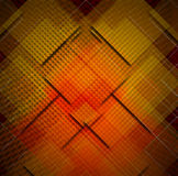 Squares Abstract Background. Red, yellow, black and orange abstract background with squares shapes Royalty Free Stock Photo