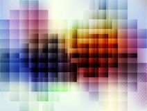 Squares background Stock Photography