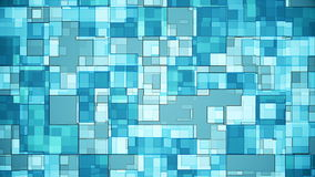 Squares Background Blue stock footage