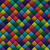 Squares background. Colored squares seamless background. EPS10 vector image Stock Photography