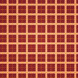 Squares background - red / orange Royalty Free Stock Photo