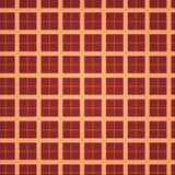 Squares background - red / orange Royalty Free Stock Photo