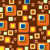 Squares background/ retro style wallpaper Royalty Free Stock Photography