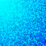 Squares blue technology pattern Royalty Free Stock Image