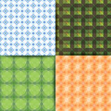 Squares bright geometry pattern. Royalty Free Stock Photo