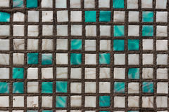 Squares. Color squares on house Royalty Free Stock Photography