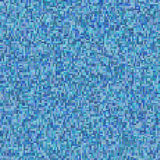 Squares in cool colors. CGI image of an squares with cold colors: blue, navy back Royalty Free Stock Images