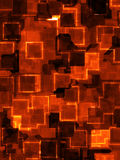 Squares and Cubes Background Pattern Stock Photography