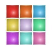 Squares with different color Royalty Free Stock Photography