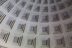 Squares in Dome Stock Photo