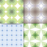 Squares green and blue pattern Royalty Free Stock Image