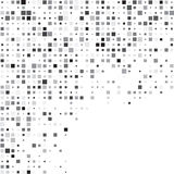Squares grey technology pattern Stock Photo