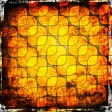 Squares on the grunge background Royalty Free Stock Image