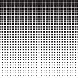 Squares Halftone Pattern Royalty Free Stock Photo