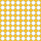 Squares linked Seamless pattern. Squares linked geometric seamless pattern vector illustration