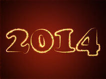 2014 from squares Stock Images