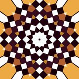 Squares mandala Royalty Free Stock Photos