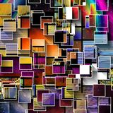 Squares Abstract royalty free illustration