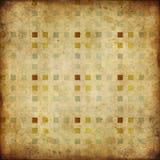 Squares mosaic grunge texture Royalty Free Stock Photos