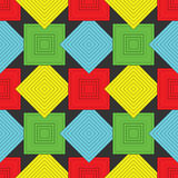 Squares pattern Royalty Free Stock Images