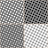 Squares Patterns Royalty Free Stock Image