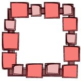 Squares Photo Picture Frame Royalty Free Stock Image