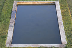 Squares pools Royalty Free Stock Images