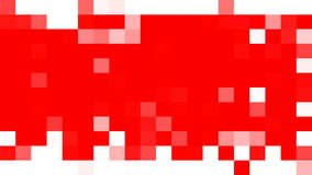 Squares random appearance. Screen transformation. Mosaic quad minimal simple abstract pattern background. stock footage