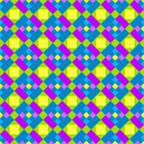 Squares rectangles seamless background Stock Photography