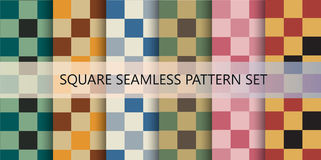 Squares seamless pattern background Royalty Free Stock Photo