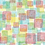 Squares seamless pattern Stock Photo