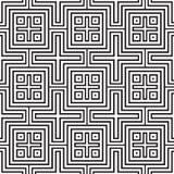 Squares seamless pattern Stock Photos