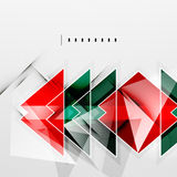 Squares and shadows - tech abstract background. Squares and shadows - colorful geometric futuristic tech abstract background royalty free illustration