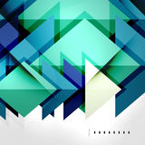 Squares and shadows - tech abstract background. Squares and shadows - colorful geometric futuristic tech abstract background stock illustration