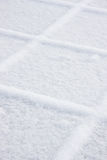 Squares of snow Royalty Free Stock Photo