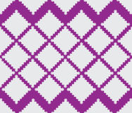 Squares of snowflakes and stars. Geometric pattern Stock Photo