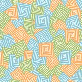 Squares seamless pattern Stock Photo