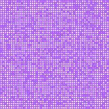 Squares technology pattern background. Technology pattern composed of white squares over purple. Vector background. r stock illustration