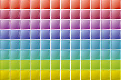 Squares Texture Stock Images