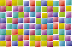 Squares texture random Royalty Free Stock Images
