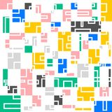 Abstact squares vector background. For background esp10 stock illustration