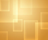 Squares on yellow Royalty Free Stock Photography