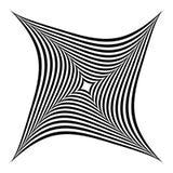 Squarish geometrische abstracte vorm vector illustratie