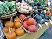 Squash At Farmers Market Royalty Free Stock Photography