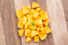 Squash butternut slice. Stock Photography
