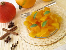 Squash compote Stock Images