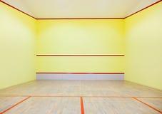 Squash court Royalty Free Stock Photo