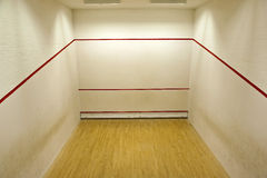 Squash court royalty free stock photography