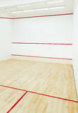 Squash court Stock Image