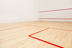 Squash court. A profesional squash court, nobody Stock Images